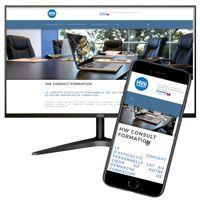 visuel Site dynamique en PHP avec gestion en back-office