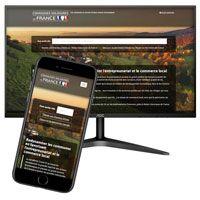 visuel API listant les communes de France et l'ensemble des acteurs économiques qui en dépendent