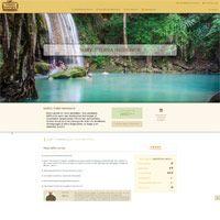 visuel Site transactionnel avec back-office de gestion