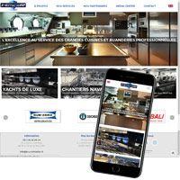 visuel Service de vente, maintenance et réparation de cuisines et buanderie sur les yachts